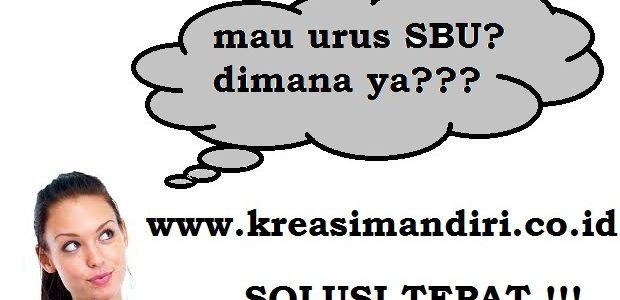 Biro Jasa Pengurusan SBU Tangerang Terpercaya