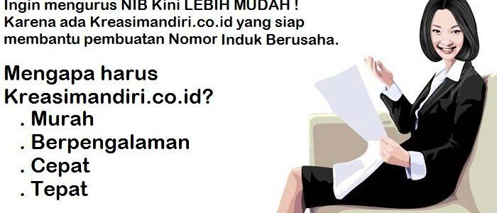 Biaya Pembuatan NIB (Nomor Induk Berusaha) Murah Di Jakarta