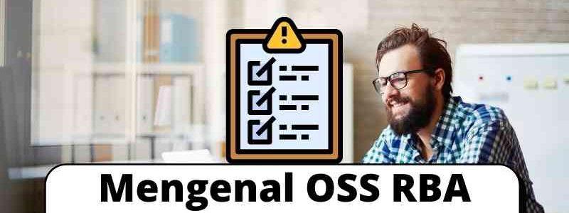 Mengenal OSS RBA Lebih Jauh Lagi